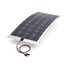 40w mono semi-flexible pv solar panel