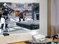 Projectors used for Gaming