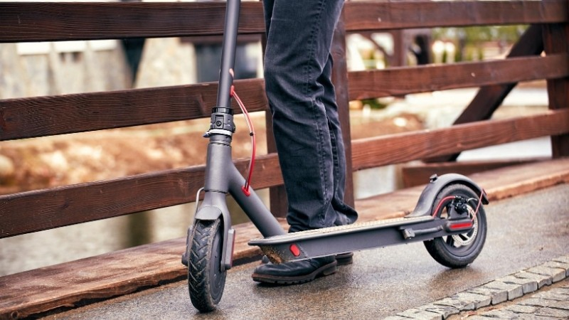 Can you ride an Electric Scooter on the Sidewalk