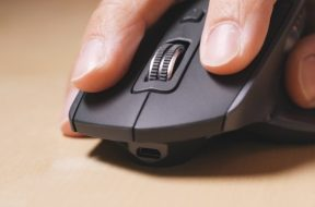 Wireless mouse for large hands