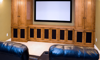 Small Theater Room